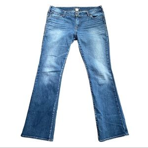 Silver Aiko Bootcut Jeans Size 34